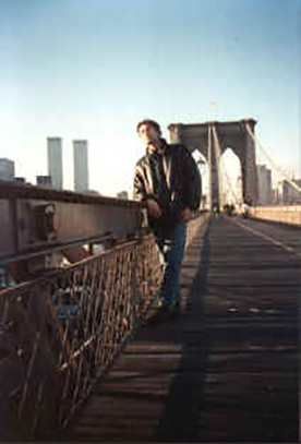 Sul ponte di Brooklyn